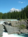 Free The Rockies - Glacial River 4 Royalty Free Stock Image - 5567246