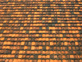 Free Neat Roof Shingles In Warm Colors Royalty Free Stock Photography - 5670607