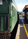 Free 1940 S Railway Carriage At Station Royalty Free Stock Photography - 5752427