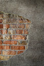 Free Brick Wall With Plaster Stock Photos - 5764423