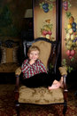 Free Child In Antique Room Stock Photo - 5805920