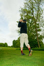 Free Teeing Swing From Backside Stock Photo - 5852010
