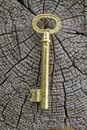 Free Old Key. Stock Image - 5868551