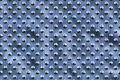 Free Metal Round Dots - Blue Sky Royalty Free Stock Photos - 590168