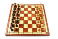 Free Wooden Chess On Wooden Chessboard Royalty Free Stock Photos - 6126618