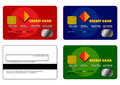 Free Credit Card Samples Set 1 Stock Photography - 6135212