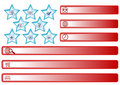 Free American Flag Buttons Stock Images - 6225074