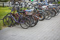 Free Many Bicycles Stock Photography - 6351832