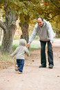 Free Father And Son In Park Royalty Free Stock Photography - 6387787