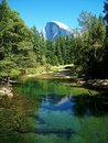 Free Half Dome Reflection At Yosemite National Park Royalty Free Stock Photography - 6449197