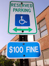 Free Handicap Sign Stock Photos - 6451713