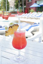 Free Beverage At Pool Royalty Free Stock Photo - 6486865