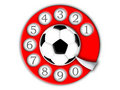 Free Football And Dial Stock Photography - 6560692
