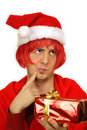 Free Wondering About Christmas Gift Royalty Free Stock Photo - 6583615