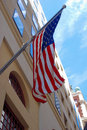 Free United States Flag On A Building Stock Photo - 6640200