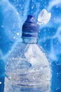Free Closeup Water Bottle In A Water Splash Royalty Free Stock Photography - 6680527