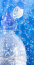 Free Closeup Of Water Bottle In A Water Splash Stock Photography - 6680542