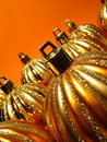 Free Gold Christmas Balls Stock Images - 6755664