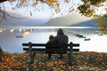 Free Two On The Autumn Lake Royalty Free Stock Image - 7063956