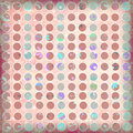 Free Spotted Shabby Scrapbook Background Stock Images - 735904