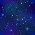 Free Night Sky With Many Stars And Constellations, Seamless Pattern Stock Image - 76765451