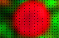 Free Christmas Dots On Red And Green Background Wallpaper Royalty Free Stock Image - 779936