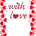 Free With Love - Valentine Background Royalty Free Stock Images - 7842879