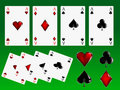 Free Poker Cards Signs Royalty Free Stock Image - 7843886