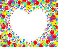 Free Dots Heart Royalty Free Stock Photo - 7889045