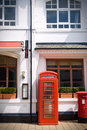 Free Red Telephone Box Royalty Free Stock Photos - 7902468