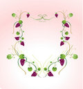 Free Floral Frame Stock Photography - 7953182