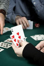 Free Poker Hand Stock Photos - 7997823