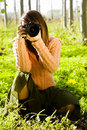 Free Female Photographer Stock Images - 8063064