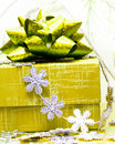 Free Yellow Gift Box Stock Images - 8101374