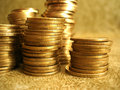 Free Stack Of Golden Coins Stock Photos - 8103453