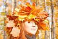 Free Miss Autumn Sunshine! Stock Photos - 8149663