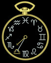 Free Zodiac Libra Clock Royalty Free Stock Image - 832116