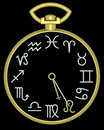 Free Zodiac Leo Clock Stock Photography - 832122