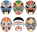 Free Masks Used In Peking Opera Stock Photography - 8337152