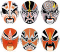 Free Traditional Peking Opera Masks Stock Photography - 8337392