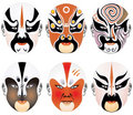 Free Masks Used In Peking Opera Stock Image - 8337511