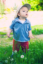 Free Cute Child Outdoors Royalty Free Stock Photography - 8369287