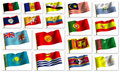 Free Collage From Flags Royalty Free Stock Image - 8380836