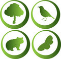 Free Nature Icons Stock Photo - 8446510
