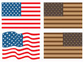 Free USA Flags Royalty Free Stock Photos - 8476358