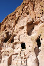 Free Cliff Dwelling At Bandelier National Monument Stock Images - 8480074