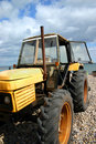 Free Beach Tractor Royalty Free Stock Photos - 854118