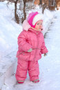 Free Pretty Little Girl In Winter Outerwear. Stock Photo - 8505570
