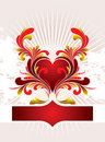 Free Heart Background Royalty Free Stock Photos - 8570948