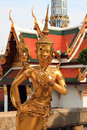 Free Golden Kinnari In Wat Phra Kaew Royalty Free Stock Photos - 8610698